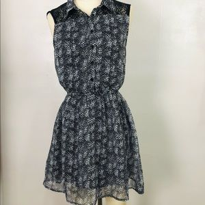 5/$25 Lucca Couture Lace Back Mini Dress Sz Small